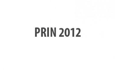 PRIN 2012