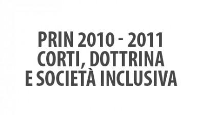 PRIN 2010-2011