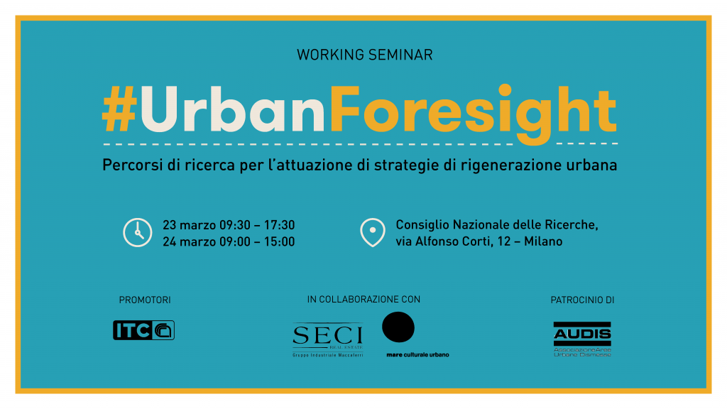 #UrbanForesight_Save_the_date